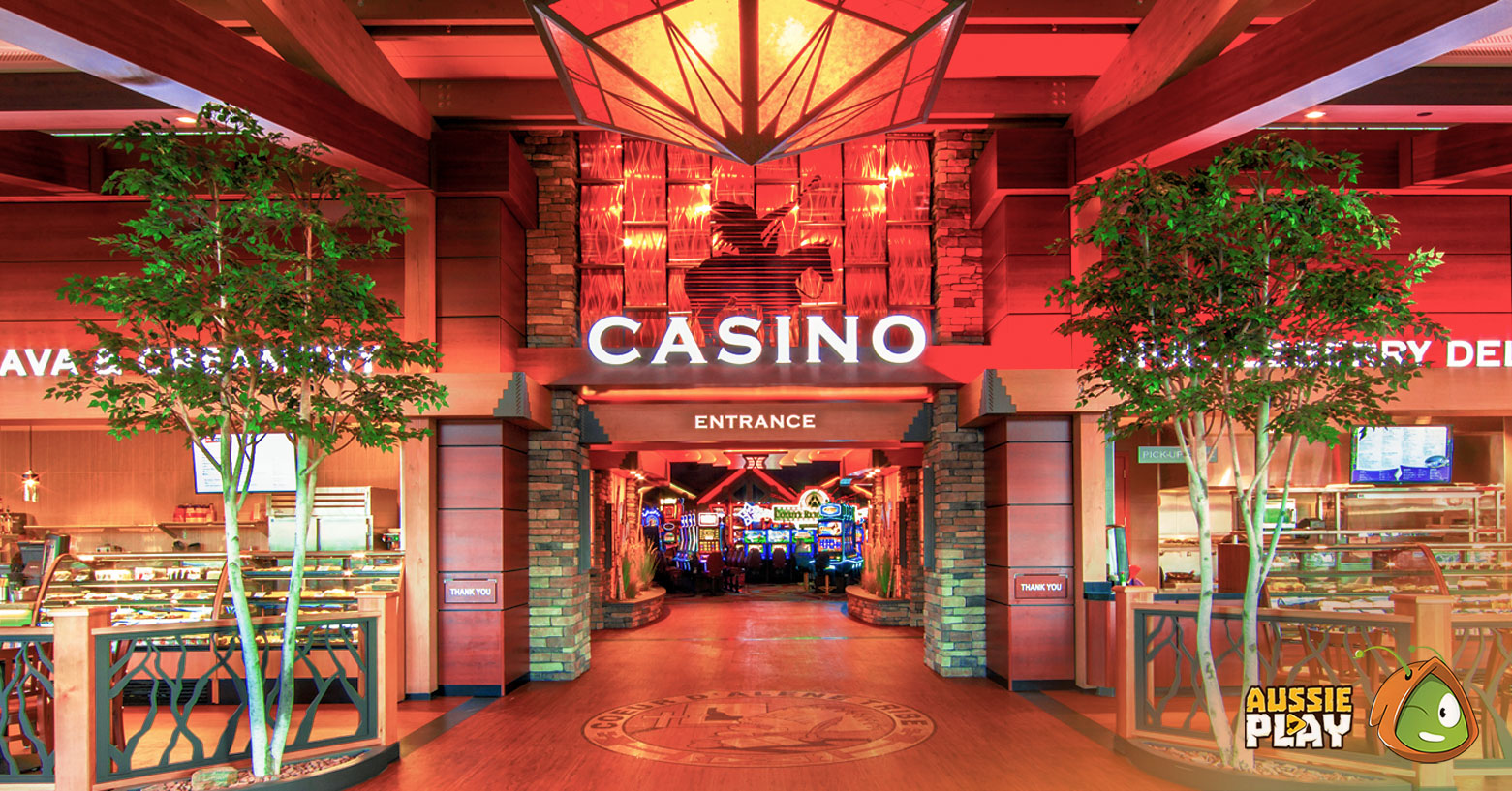 The Coeur d'Alene Casino Resort Hotel in Idaho
